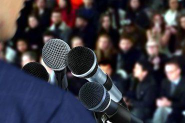 Photo du public lors d'une conférence