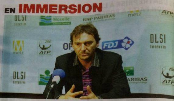 """Image de l'article de presse """"En Immersion"""" avec Julien BOUTTER en 1er plan"""