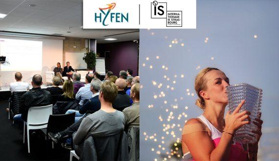 Image du partenariat entre Hyfen et les Internationaux de Strasbourg 2019