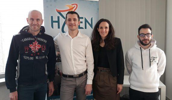 Les membres du pôle formation et séminaire de chez Hyfen